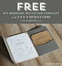 do it yourself invitations free do it yourself wedding invitations templates yourweek