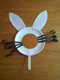 easter bunny mask cute and looks easy to make easter