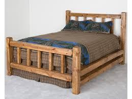 Wooden Log Beds Log Furniture King Barnwood Little Jack Bed Becker Furniture