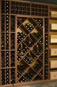 how do i design a wall wine rack display