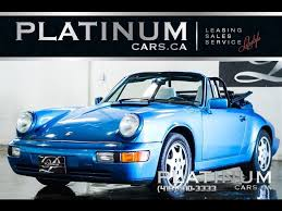 classic convertible porsche used 1991 porsche 911 for sale north york on