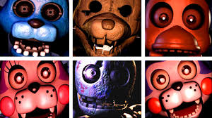 five nights at candy u0027s all jumpscares youtube