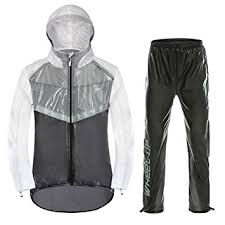 raincoat for bike riders fastar bike riding raincoat set waterproof rain jacket and pant