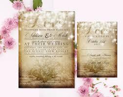 wedding invitations quincy il rustic vineyard wedding invitation and rsvp vineyard wedding