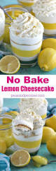 creamy no bake lemon cheesecake recipe sweet cheesecake and