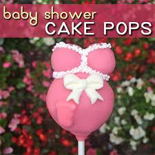 easy baby shower cake pops