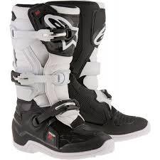 white motocross boots alpinestar tech 7s kids youth motocross boots black white 1stmx co uk