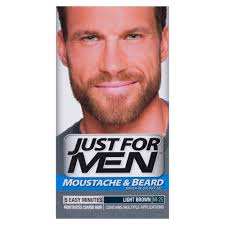 Light Brown Dye Buy Moustache U0026 Beard Light Brown 40 Ml By Just For Men Online