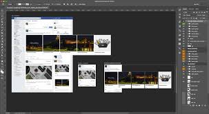 social kit pro photoshop plugin with social templates for