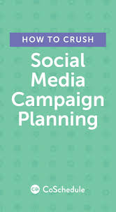 social media campaign planning how to crush it free templates