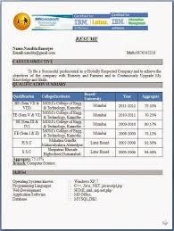 resume format for fresher teacher filetype doc resume sle pdf india fresherresumeformat jpg jobsxs com