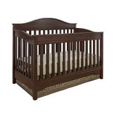 Convertible Crib Full Size Bed by Dorel Living Eddie Bauer Langley Crib Walnut