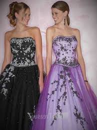 gothic purple dress and online fashion review gown4style