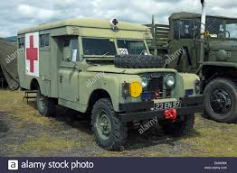military land rover land rover military ambulance stock photo royalty free image