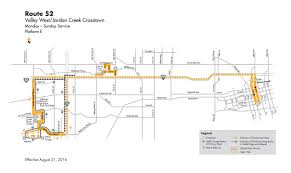 Greyhound Bus Routes Map by Dart Local Route Local Route 52 U2013 Valley West Jordan Creek Crosstown