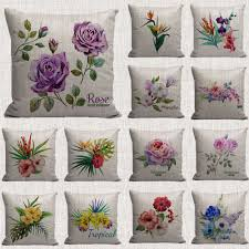 compare prices on floral cushions online shopping buy low price
