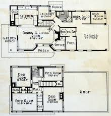 2 story country home floor plans