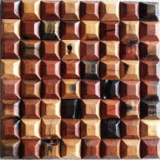 Wood Wall Panel by Wall Feature Natural Wood Mosaic Tile 3d Wall Panel Rsmacal