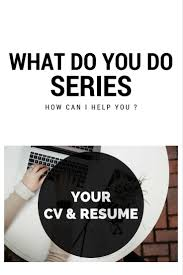 Resume Writers Bay Area Cv Resume Writing U2013 Wdyd Series U2013 Wadriski Writes