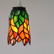 how to tea stain glass l shades shop hanging glass light fixtures on wanelo
