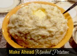 make ahead mashed potatoes recipe what s cooking america