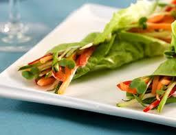 garlic lemon blistered gem lettuce salad recipe what u0027s for dinner