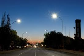 Main Street Lighting Beka Schréder U0027s Led Street Lighting For Main Street In Naledi