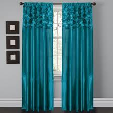 Cheap Turquoise Curtains Circle Window Curtain Set Lush Decor Www Lushdecor