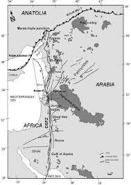 Dead Sea Map Untitled