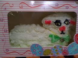 Decorating Easter Lamb Cake by Cake Wrecks Home Lamb Fleeces