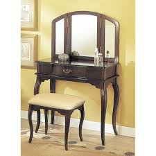 Folding Vanity Table Ceiling Charming Vanity Table With Mirror For Home Furniture