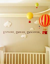 Baby Room Themes Air Balloon Theme Air Balloons Air Balloon And Nursery
