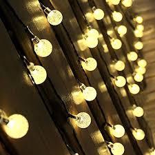 solar string lights warm white outdoor solar string lights innoo tech