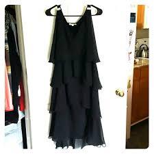 71 off tessa for dress barn dresses u0026 skirts plus tiered black