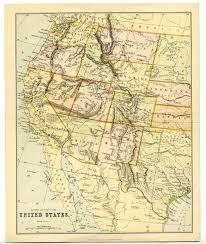 Arizona Map Us by 1880 Antique Map Usa Western States California Arizona Oregon New