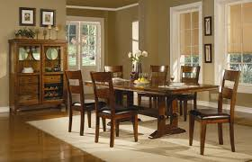 casual dining room chairs dark oak finish casual dining table w optional chairs