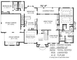 5 bedroom floor plans 1 story 5 bedroom house plans craftsman style house plans square foot home 1