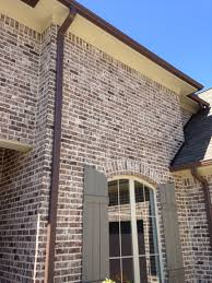 Painting Brick Exterior House - painted brick houses before and after black wall vector kingston