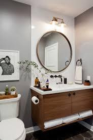 oriana round modern bathroom mirror free shipping today lovely