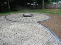 Backyard Concrete Ideas 57 Best Concrete Patios Images On Pinterest Gardens Backyard