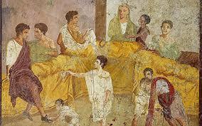 banchetti antica roma incontro scontro i giovani dell antica roma e quelli xxi
