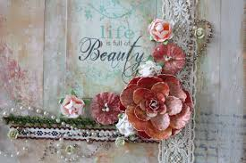 shabby chic painting the art of scrapbooking by melissa samuels