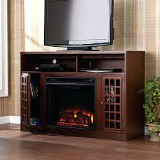 electric fireplace tv stand black costco with walmart canada