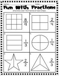147 best math fractions images on pinterest teaching