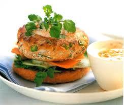 livre cuisine poisson burgers de poisson à la thaïlandaise p 147 recette tirée du