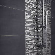 carrelage noir brillant salle de bain indogate com modele salle de bain faience