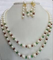 g ratna jewellers pearl jewellery