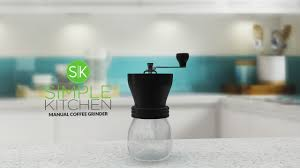 Kitchen Products by Simple Kitchen Products Manual Coffee Grinder Adjustment Tutorial