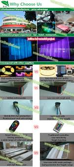 wedding backdrop cost water wall design water features led curtain wedding