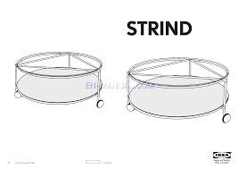 ikea strind coffee table assembly instruction for tables ikea strind coffee table 39 round
